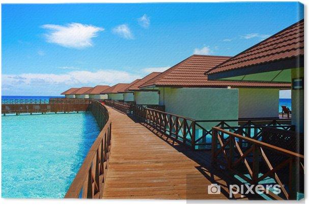 Cuadro en Lienzo Maldive - Vacaciones