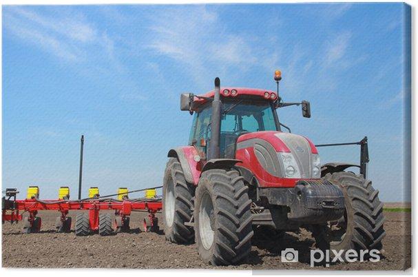 Cuadro en Lienzo Maquinaria agrícola, la siembra - Temas