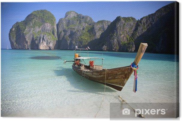 Cuadro en Lienzo Maya Bay, Koh Phi Phi Ley, Tailandia. - Temas