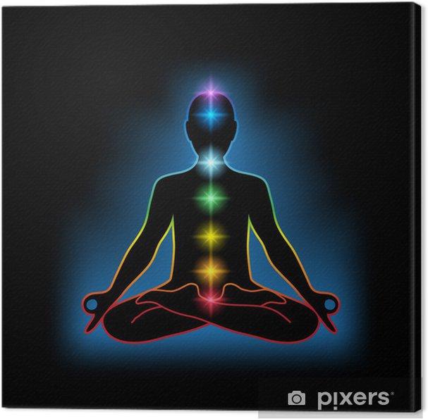 Cuadro en Lienzo Meditación - Salud