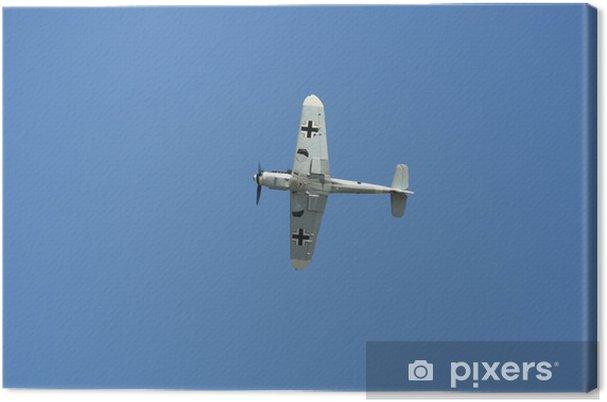 Cuadro en Lienzo Messerchmitt bf 109 en vol - Por aire