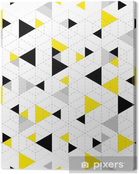 Cuadro en Lienzo Modelo geométrico fondo - Recursos gráficos