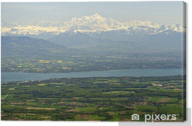 Cuadro en Lienzo Mont Blanc - Montañas