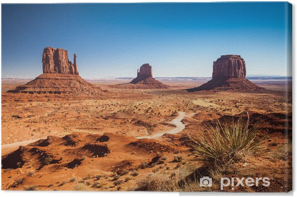 Cuadro en Lienzo Monument Valley, EE.UU. - Desierto