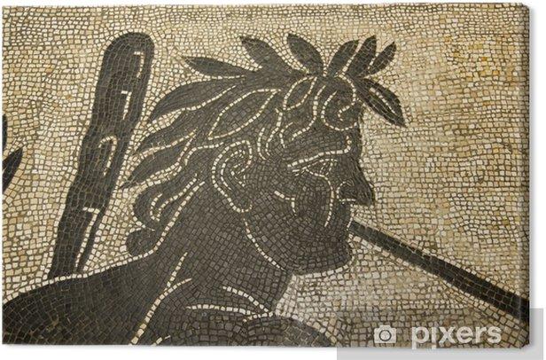 Cuadro en Lienzo Mosaico romano. Vaticano. II siglo dC. - Construcciones públicas