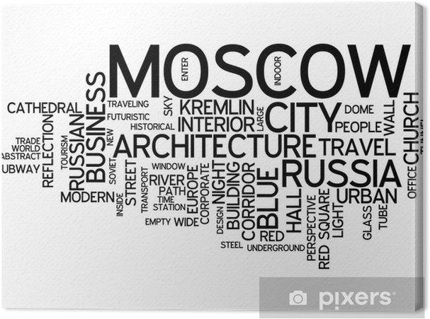 Cuadro en Lienzo Moscú, rusia - Moscú