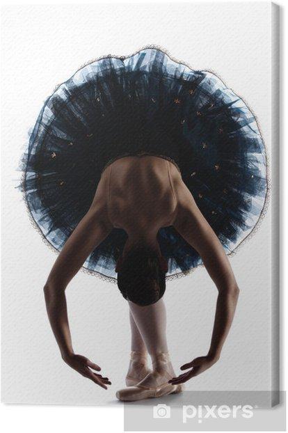 Cuadro en Lienzo Mujer del bailarín de ballet - Ballet