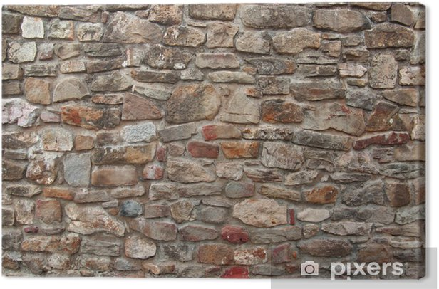 Cuadro En Lienzo Muro De Piedra Natural Pixers Vivimos Para Cambiar