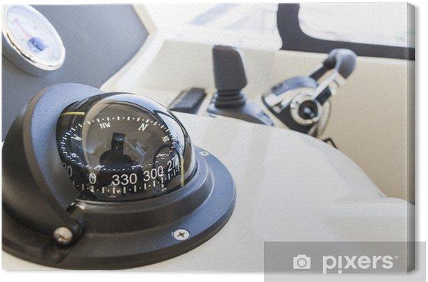 Cuadro en Lienzo Nautica bussola - Barcos