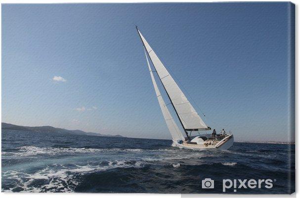 Cuadro en Lienzo Navegando en el mar Adriático - Países