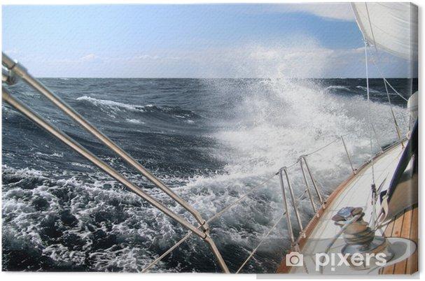 Cuadro en Lienzo Navegando en la tormenta - iStaging