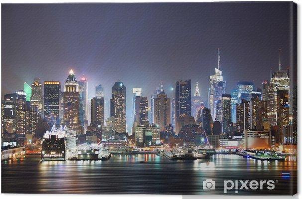 Cuadro en Lienzo New York City Times Square -