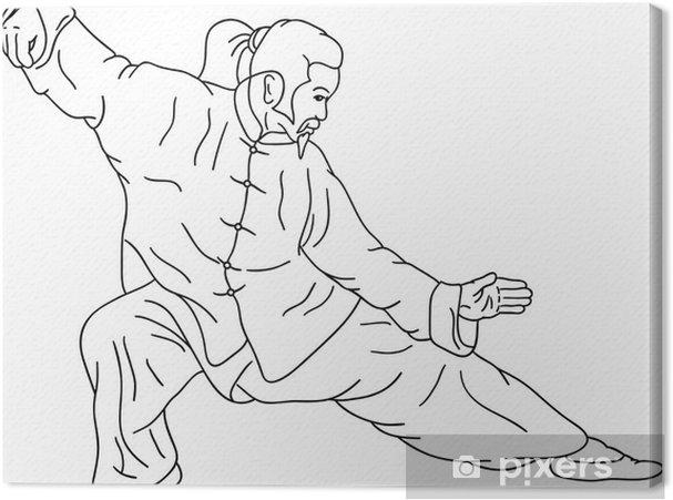 Cuadro en Lienzo Ninja - Deportes individuales