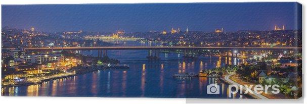 Cuadro en Lienzo Notte ad Estambul - Continentes