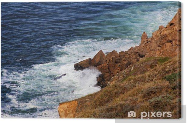 Cuadro en Lienzo Océano pacífico - Agua