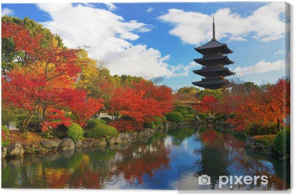 Cuadro en Lienzo Pagoda de Toji en Kyoto, Japón - Temas