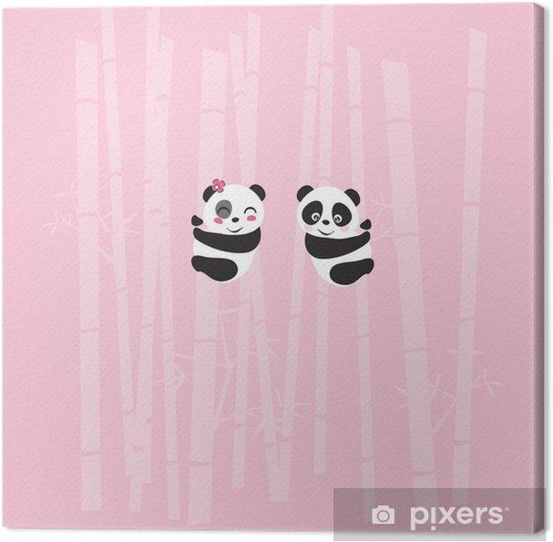 Cuadro en Lienzo Panda - Celebraciones internacionales