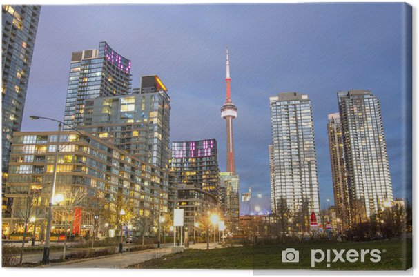 Cuadro en Lienzo Panorama Toronto, Canadá - América