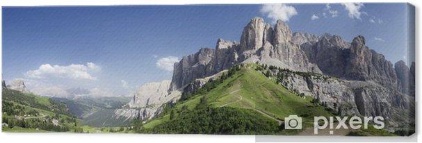 Cuadro en Lienzo Panoramica sulle Dolomiti - Temas