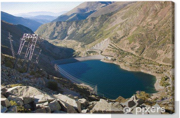 Cuadro en Lienzo Parque Nacional de Aigüestortes - Montañas