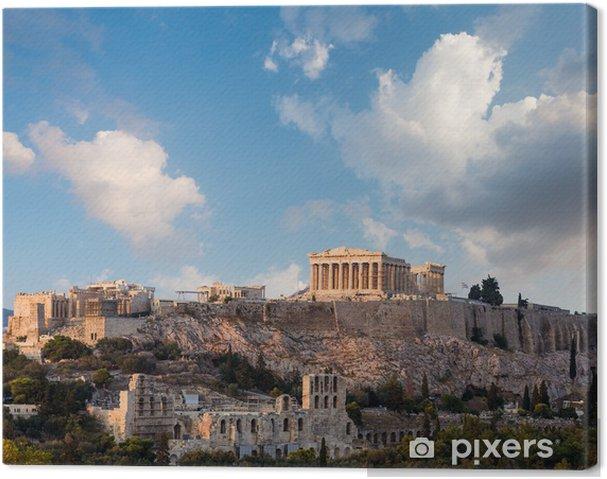 Cuadro en Lienzo Partenón, Atenas Acrópolis, Atenas, Grecia - Temas