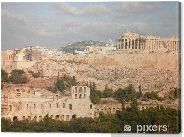 Cuadro en Lienzo Parthenon de la acrópolis de Atenas Grecia - Temas