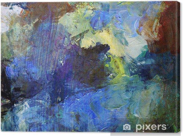 Cuadro en Lienzo Pintura al óleo abstracta, pintura - Logros