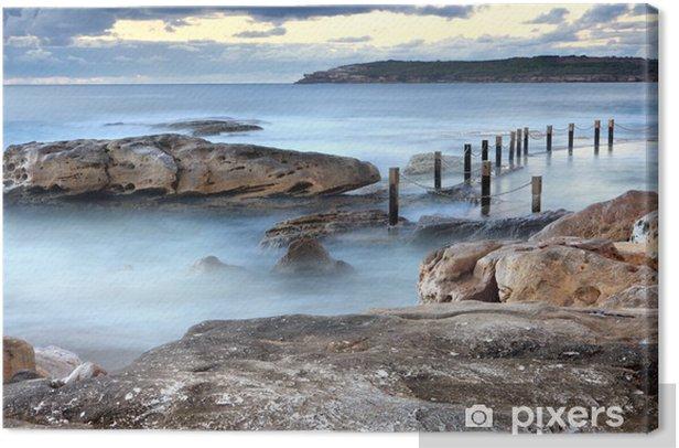 Cuadro en Lienzo Piscina de roca Mahon océano Maroubra Australia - Temas