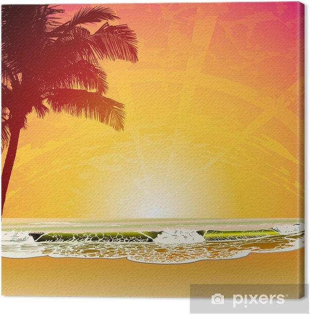 Cuadro en Lienzo Playa 33 - Temas
