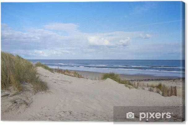 Cuadro en Lienzo Playa abandonada sueño - Destinos