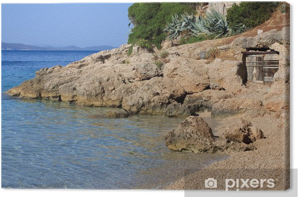 Cuadro en Lienzo Playa Murvica (Bol - Isla Brac - Croacia) - Temas
