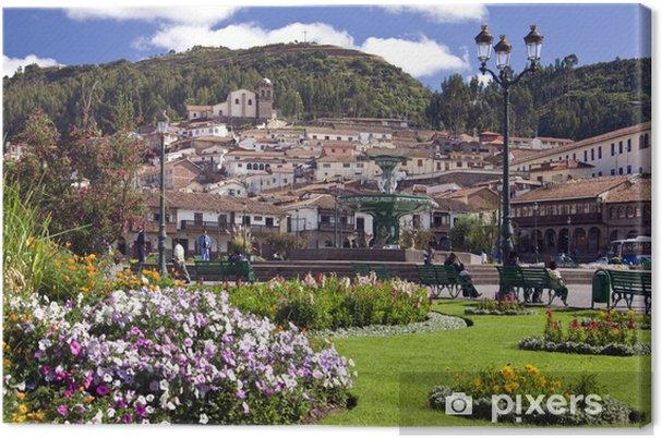 Cuadro En Lienzo Plaza De Armas Cusco Peru