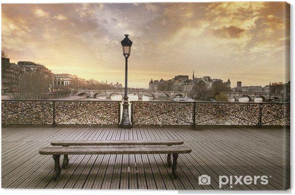 Cuadro en Lienzo Pont des Arts, París - Destinos