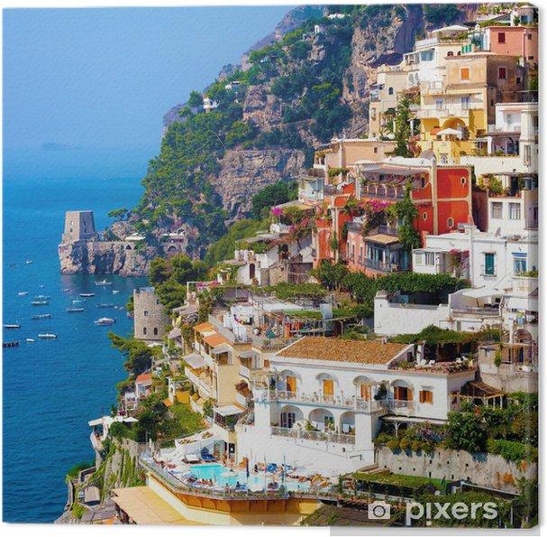 Cuadro en Lienzo Positano, Italia. Costa de Amalfi - Temas