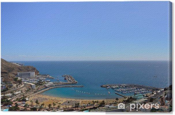 Cuadro en Lienzo Puerto Rico Gran Canaria - Vacaciones