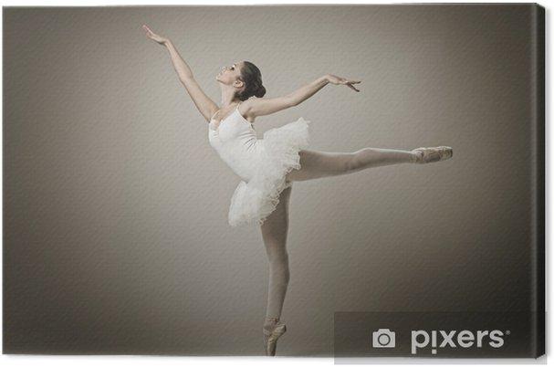 Cuadro en Lienzo Retrato de la bailarina de ballet plantean - Temas