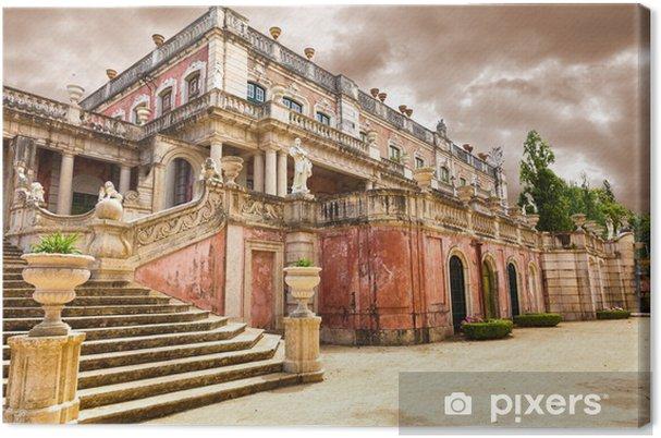 Cuadro en Lienzo Robillon ala en el Palacio Nacional de Queluz, Portugal - Castillos y palacios