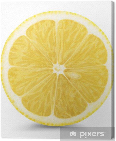 Cuadro en Lienzo Rodajas de limón - Frutas