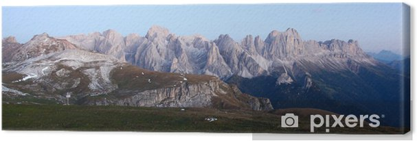 Cuadro en Lienzo Rosengarten Dolomitas - Deportes de exterior