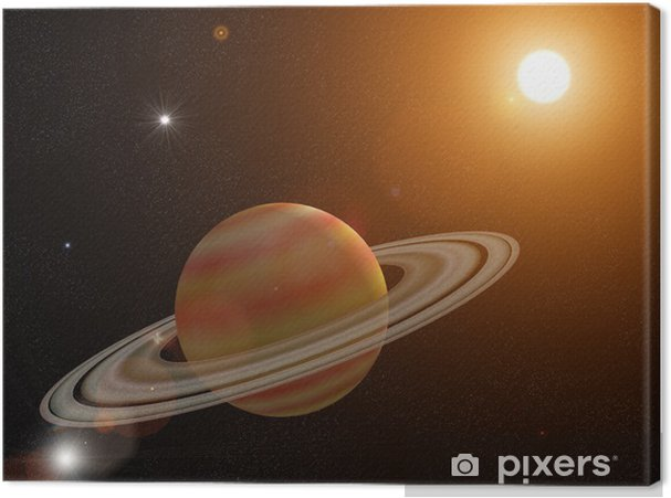 Cuadro en Lienzo Saturno - Planetas
