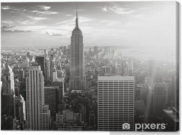Cuadro en Lienzo Skyline new york - Temas