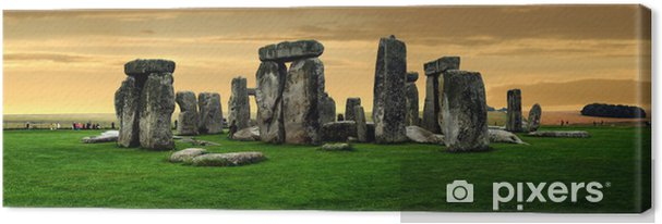Cuadro en Lienzo Stonehenge ruinas - Europa