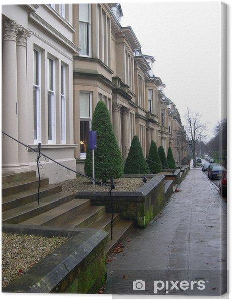 Cuadro en Lienzo Street Glasgow - Europa