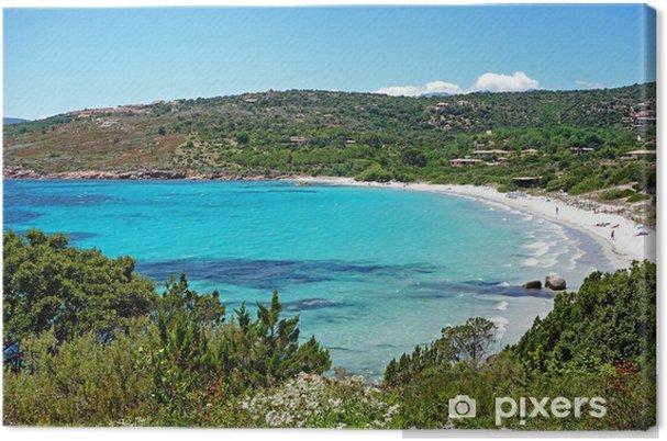 Cuadro en Lienzo Sueño de playa - Vacaciones