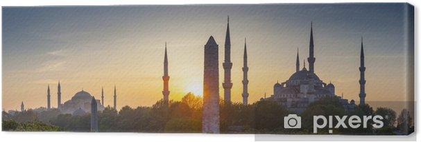 Cuadro en Lienzo Sultanahmet Camii / Mezquita Azul, Estambul, Turquía - Temas