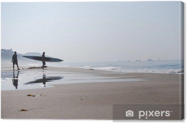 Cuadro en Lienzo Surfer - malibu - california - Ciudades norteamericanas