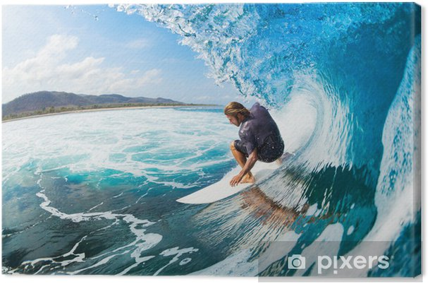 Cuadro en Lienzo Surfing - Temas