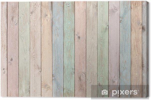 Fondos De Pantalla Fondo De Tablero De Madera De Colores: Cuadro En Lienzo Tablones De Madera Color Pastel Textura O