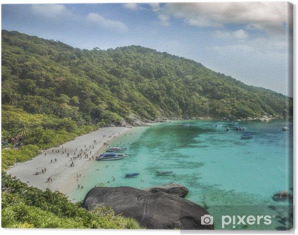Cuadro en Lienzo Tailandia océano - Asia