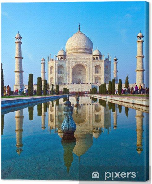 Cuadro en Lienzo Taj Mahal en la India - Temas